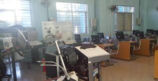 Phòng lab ô tô